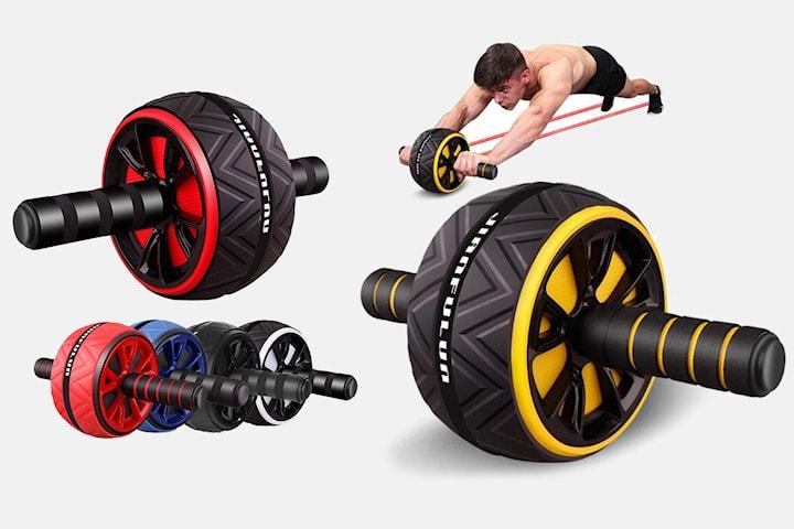 Träningshjul för magen, armarna och ryggen