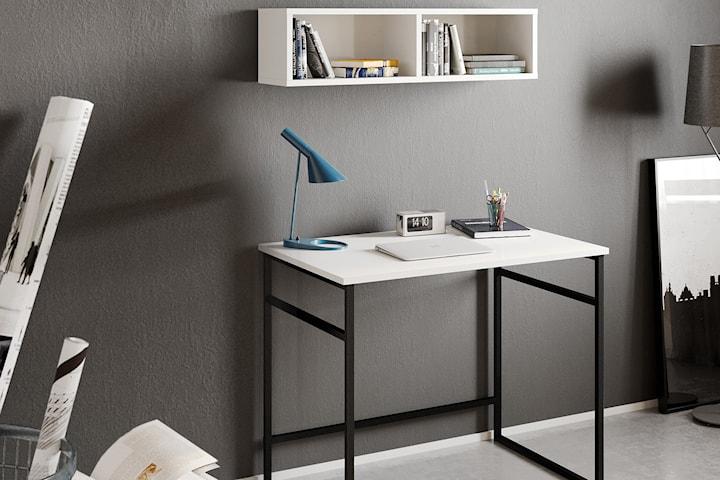 Hanah Home Gama skrivbord med vägghylla