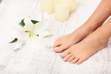 Fotvårdsbehandling hos Beauty Clinic