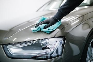Fullshine vask på bilen hos Bilpleie Spesialisten Vest ANS