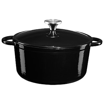 "Svart, Dorre Cast iron pot ""Gretl"", 4 liters, Gjutjärnsgryta, ,"