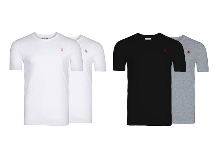 US Polo t-skjorte 2-pack