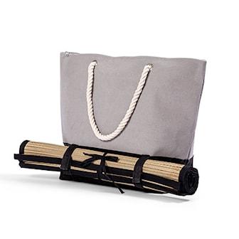 Grå, Beach Bag with Matching Beach Carpet, Lord Nelson, Lord Nelson beach-bag med matchande strandfilt, ,