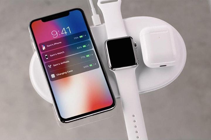 3-in-1 trådlös laddare för iPhone och Samsung