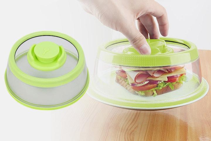 Vakuumlokk for bevaring av mat