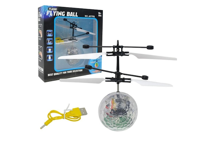 Flying Ball med LED-lys