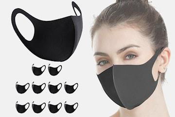 Ansiktsbeskyttelse 10-pack
