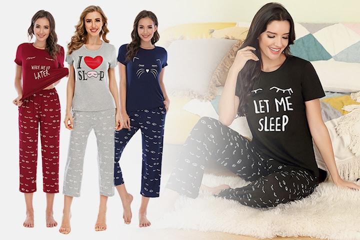 Pyjamas t-shirt och byxor